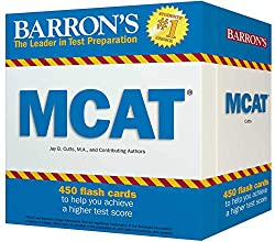Barron's Test Prep MCAT Flash Cards