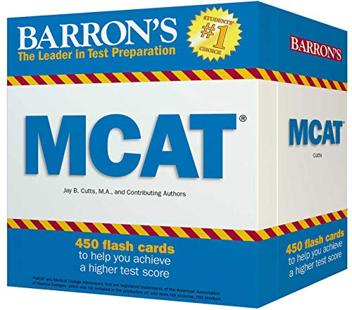 Barron's MCAT Flash Cards