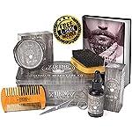 Viking Revolution Beard Care Kit for Men - Ultimate Beard Grooming Kit includes 100% Boar Men's Beard Brush, Wooden… 4