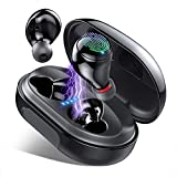 Wireless Earbuds Bluetooth Headphones IP8 Waterproof, 150H Playtime, HiFi Stereo Sound True Wireless Earphones, Binaural Calls, Touch Control,Built-in Mic Ear Buds Bluetooth Headset for Workout Sport