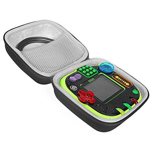RockIt Twist Handheld Learning Game Storage Bag Travel Hard Case for LeapFrog Rockit Twist Kids Educational Toy ,Black