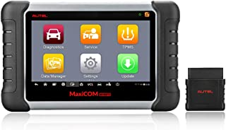 Autel MK808TS MaxiCOM OBD2 Diagnostic Scanner with Complete TPMS Functions,Oil Reset,EPB,SAS,BMS,DPF,IMMO (Advanced Version of MK808/MK808BT)