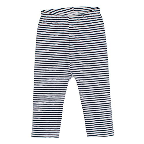 SALT AND PEPPER Baby-Mädchen B Leggins Meer Stripe Leggings, Blau (Navy 455), 86
