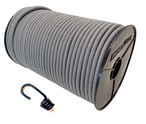 Cuerda elástica de 6 mm – 10 mm con gancho en espiral,...