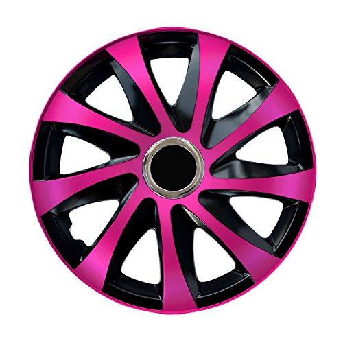 Centurion Radzierblende Drift EXTRA pink/schwarz 15 Zoll 4er Set