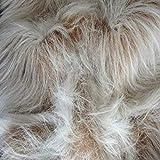 CRS Fur Fabrics Tissu en Fausse Fourrure - Camel Frost