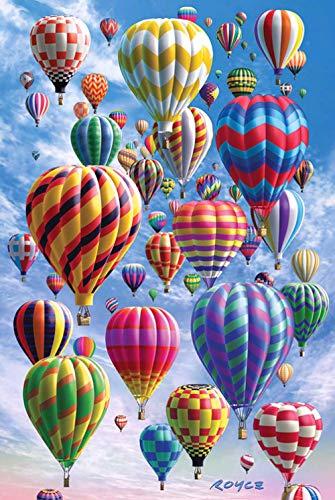 FFLFFL Adult Jigsaw Balloon