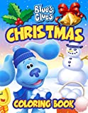 Blue's Clues Christmas Coloring Book: Perfect Coloring Book For Kids And Adults To Create Beautiful Art, Learn, Knowledge Development, Relief Stress, ... Of Blue's Clues In CHRISTMAS Edition