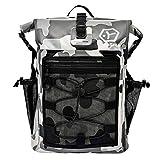 【TaoTech】 防水バッグ ドライバッグ 防水 リュック ロールトップ 大容量 バッグ アウトドア 旅行 迷彩 男女兼用 20L 25L 30L (30L, 迷彩30L)