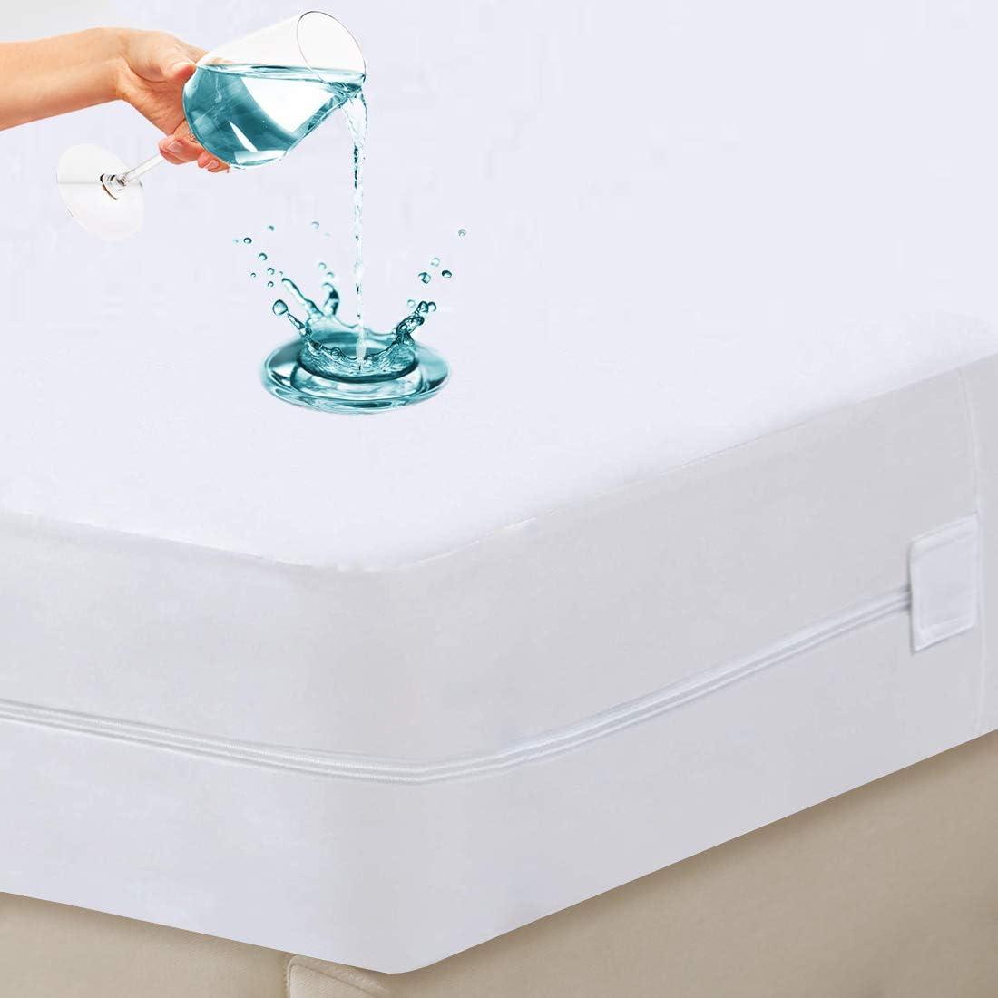 California King Waterproof Zippered Deluxe Mattress Cheap mail order shopping Breatha Encasement