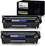 Compatible Toner Cartridges Replacement for HP 12A Q2612A, Use...