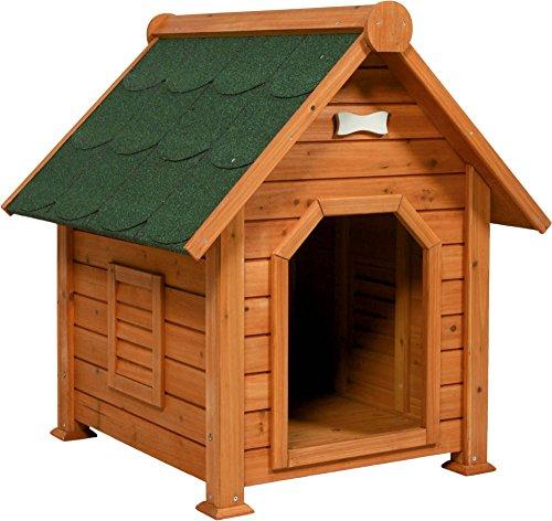 Niche en bois extérieur Toundra pour chien / Zolux Taille M : 75 x 81.5 x 88 cm
