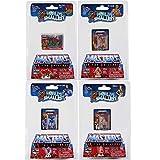 Worlds Smallest Masters of The Universe Bundle Set of 4 Mini Figures - He-Man - Skeletor - Teela - Battle Cat
