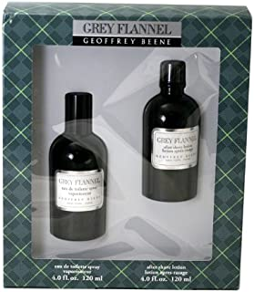 Grey Flannel By Geoffrey Beene For Men. Gift Set (eau De Toilette Spray 4.0 Oz+ Aftershave 4.0 Oz )
