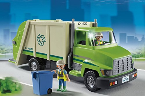 Camion Recyclage Vert Playmobil Ensemble de Jeu 5679 - 5