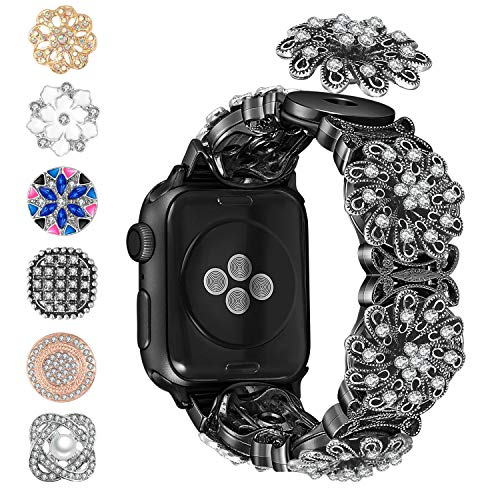 Blinkbrione DIY 2 in 1 Bracelet Apple Watch Bands Replacement $11.70 (55% Off at checkout)