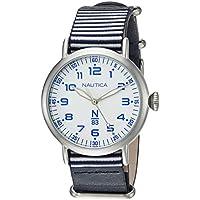 Nautica N83 Wakeland Unisex Watch (Blue/White Stripe)