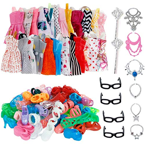 AMETUS 32 PCS Doll Accessories, ...
