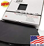 Vibro 455 mil-1/2 Thick-Sound Dampening Insulator-100% Waterproof Closed Cell Foam Car Sound Deadening Material -Automotive Sound Deadener 6 Large Sheets Buy & Support Made in USA-Not Russia or China