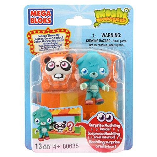 Mega Bloks Moshi Monsters Zoo And Poppet 80635