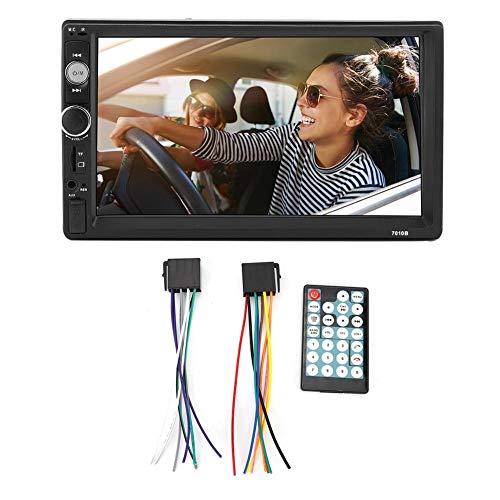 Navegación GPS, Navegador GPS 7 pulgadas Coche Bluetooth FM Audio 1080P HD Pantalla táctil que invierte el reproductor MP5 automático
