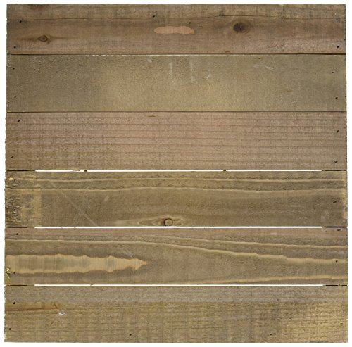 Hampton Art JB0462 Mix The Media Wooden Plank Plaque, 12' by...