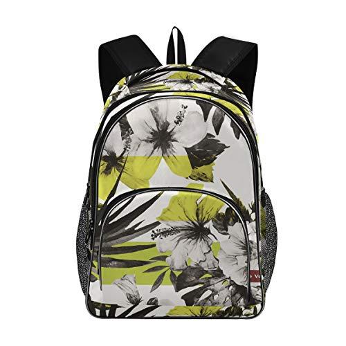 Rucksack Multifunktions-Büchertasche Wandern Casual Daypack Umhängetasche Flower Vector