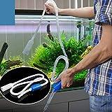 Accesorios de Tanques de Peces MMGZ 1.6m Simple práctica Syphon Filter Tubo de aspiración del Agua del Acuario del Cambiador