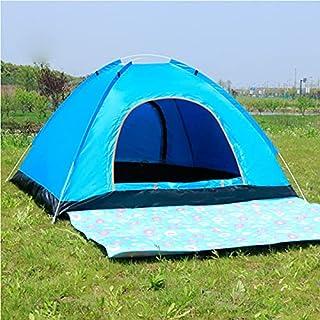 Automatiskt tält utomhus camping vikbart automatiskt tält 2 personer enkel dubbeldörr 3-4 personer strand enkel snabb öppn...