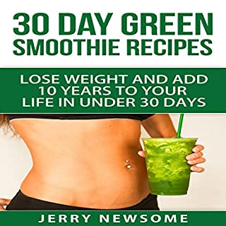 30 Day Green Smoothie Recipes cover art