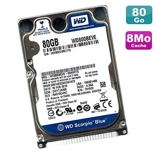 Western Digital Disco Duro portátil 80 GB IDE 2.5
