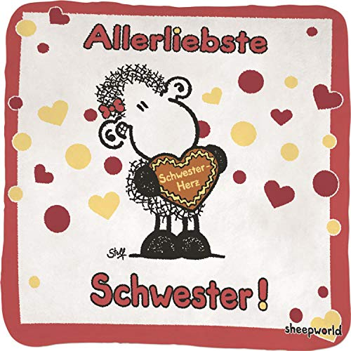 Sheepworld Magic Towel - Allerbeste Schwester 59358