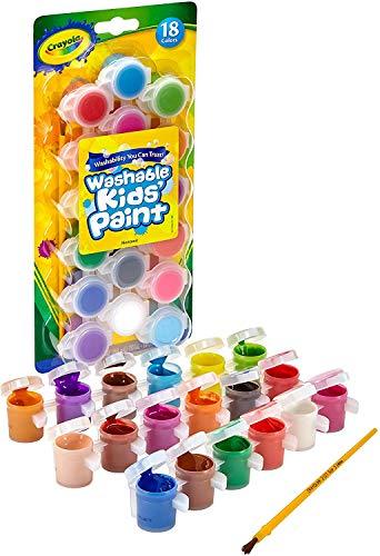 CRAYOLA 54-0125 Kit de Pintura y Modelado para niños - Kits de Pintura y Modelado para niños (18 Pieza(s), EE.UU.)
