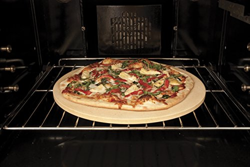 Pizzacraft 16.5' Round ThermaBond Baking/Pizza Stone - for Oven or Grill - PC9898