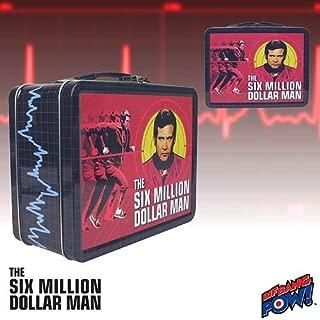 The Six Million Dollar Man Tin Tote