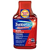 Theraflu ExpressMax Severe Cold and Flu Syrup, Berry Flavor, Specially formulated for Relief from Cold and Cough, Alcohol Free - 8.3 Ounce Bottle
