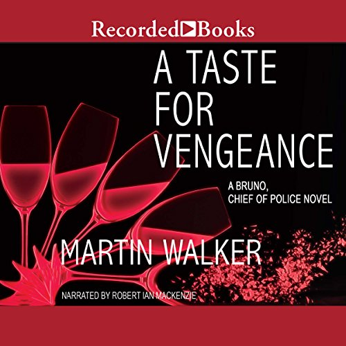 A Taste for Vengeance audiobook cover art
