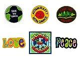Patch Love Peace on Earth Atomkraft ? Nein Danke Aufnäher