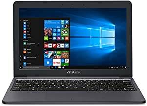 "ASUS VivoBook E203MA Ultra-Thin Laptop [2019 Version], Intel Celeron N4000 Processor (up to 2.6 GHz), 4GB LPDDR4, 64GB eMMC, 11.6"" HD, USB-C, Windows 10 S mode (Switchable to Pro), E203MA-YS03"