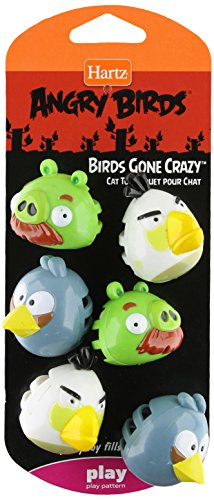 Price comparison product image Hartz Angry Birds Birds Gone Crazy - Cat Toy,  - Officially Licensed by Rovio
