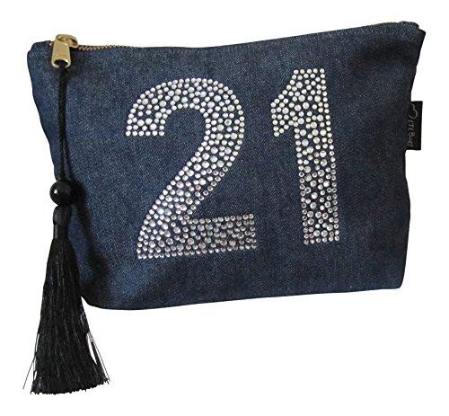 Makeup Bag Toiletry Bag 21st Birthday Gift 21st Present 21st Gift Idea
