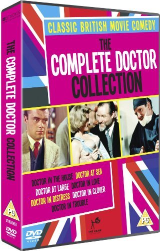 The Complete Doctor Collection - 7-DVD Box Set ( Doctor in the House / Doctor at Sea / Doctor at Large / Doctor in Love / Doctor in Distress / Do [ NON-USA FORMAT, PAL, Reg.2 Import - United Kingdom ]