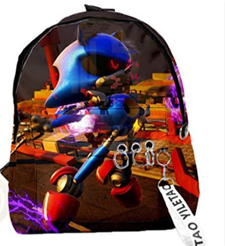 xunlei Alfombra Sonic Home Towel Niños Escuela Mochila Sonic The Hedgehog Kids...