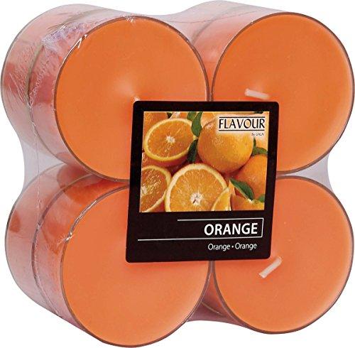 Gala Maxi Duftteelichter Teelichter 8 Stück Orange