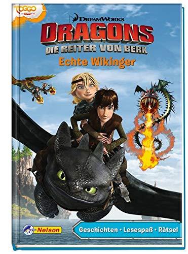 Dreamworks Dragons - Echte Wikinger: Geschichten - Lesespaß - Rätsel