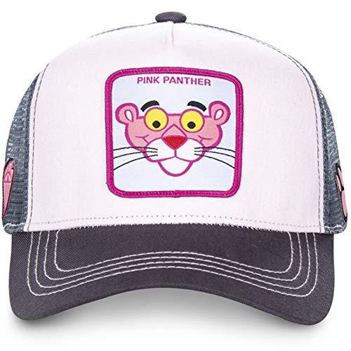 yitao Baseball Kappe Pink Panther Mesh Kappe Sommer Baseballkappe Kapseln Anime Black Trucker Hat Dad Hat Snapback
