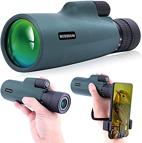 10-30 X 50 Zoom Monocular Telescope High Power Prism Compact Monoculars for Adults HD Monocular...