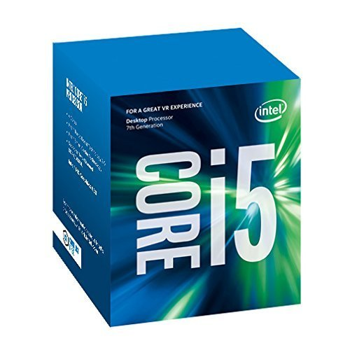 CPU Intel Core i5-7600 QuadCore a 3,5 GHz 6 MB de caché, Negro