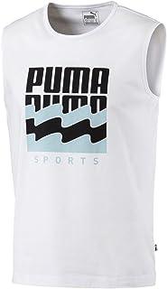 PUMA Men's Summer Graphic Sleeveless Tee