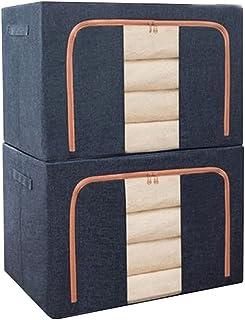 Lpiotyucwh Paniers et Boîtes De Rangement, 2pcs Sacs de Rangement pour vêtements pour armoires Pliables pour l'organisateu...